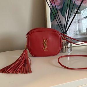 YSL Blogger Bag Red